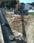 Einbau Sedimentationsanlage 02