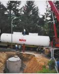 Tankeinlagerung -50.000 ltr. - Zweikammertank