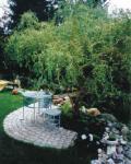 Natursteinterrasse